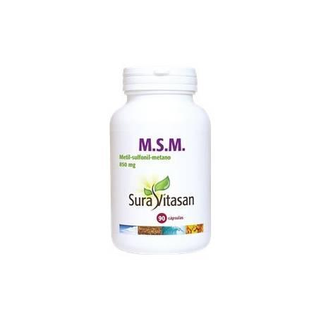 M.S.M. 850mg 90cap SURA VITASAN Plantas Medicinales 20,44€