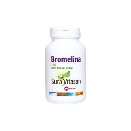 BROMELINA 2400 90cap SURA VITASAN Plantas Medicinales 35,12€