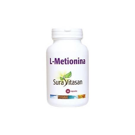 L-METIONINA 50cap SURA VITASAN Plantas Medicinales 16,23€