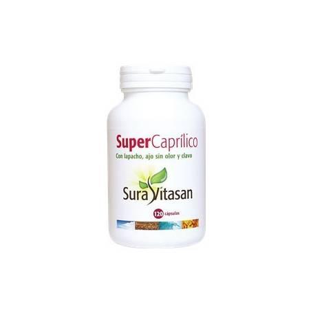 SUPER CAPRILICO 120cap SURA VITASAN Plantas Medicinales 37,87€