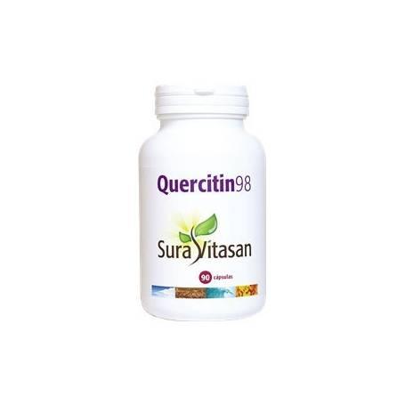 QUERCITIN 98 90cap SURA VITASAN Plantas Medicinales 37,33€