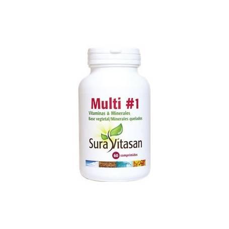 MULTIVITAMINS & MINERALS 60comp SURA VITASAN Plantas Medicinales 14,29€