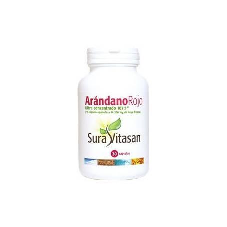 ARANDANO ROJO 30cap SURA VITASAN Plantas Medicinales 13,89€