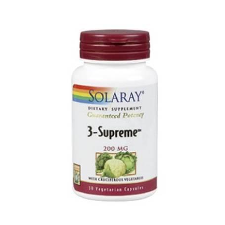 3-SUPREME 200mg 30cap SOLARAY Suplementos nutricionales 46,75€