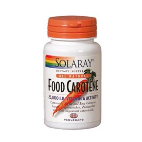 FOOD CAROTENE 50perl SOLARAY