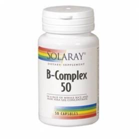 B-COMPLEX 50 50cap SOLARAY Suplementos nutricionales 12,02€