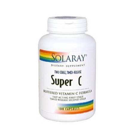 SUPER C ACCION RETARDADA 100cap SOLARAY Plantas Medicinales 18,70€