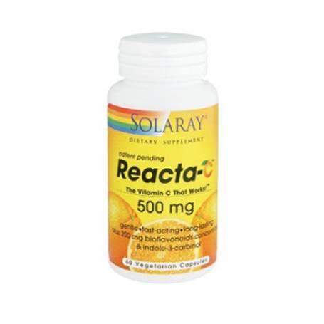 REACTA-C 500mg 60cap SOLARAY Plantas Medicinales 16,03€