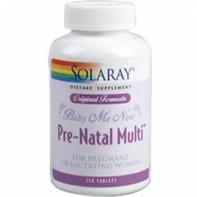 BABY ME NOW PRE-NATAL MULTIVITAMINICO 150comp SOLARAY Suplementos nutricionales 26,05€