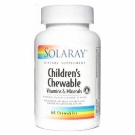 CHILDREN'S MASTICABLE 60comp SOLARAY Plantas Medicinales 8,02€