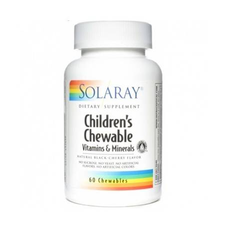 CHILDREN'S MASTICABLE 60comp SOLARAY Plantas Medicinales 8,02 €