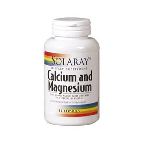 CALCIO-MAGNESIO 90cap SOLARAY Suplementos nutricionales 14,03€