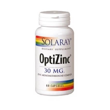 OPTIZINC (Zn+B6) 60cap SOLARAY Suplementos nutricionales 10,69€
