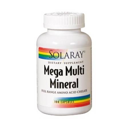 MEGA MULTI MINERAL 120cap SOLARAY Plantas Medicinales 16,70€