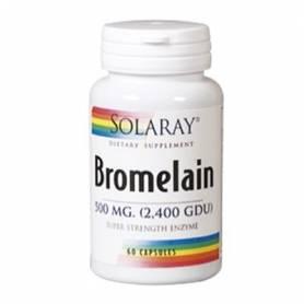 BROMELAINA 60cap SOLARAY Plantas Medicinales 26,72€