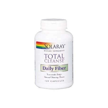 TOTAL CLEANSE DAILY FIBER 120cap SOLARAY Plantas Medicinales 21,71€