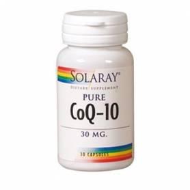 CoQ10 PURA 30mg 30cap SOLARAY
