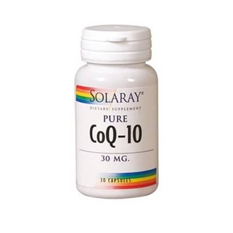 CoQ10 PURA 30mg 30cap SOLARAY Suplementos nutricionales 20,04€