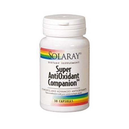 SUPER ANTIOXIDANT COMPANION 30cap SOLARAY Suplementos nutricionales 12,69€
