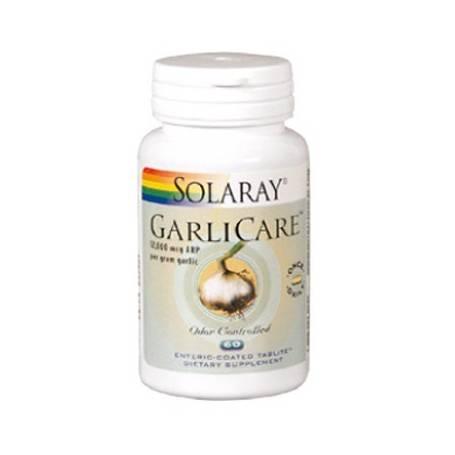 GARLICARE 10000mcg 60cap SOLARAY Plantas Medicinales 14,69€