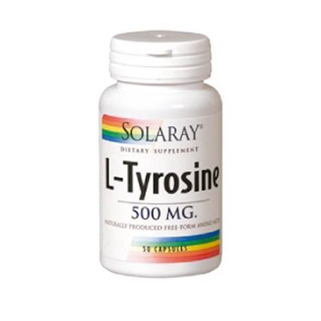 L-TIROSINA 500mg 50cap SOLARAY Plantas Medicinales 16,70€