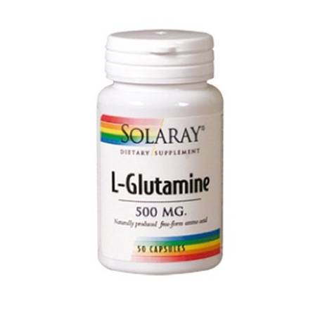 L-GLUTAMINA 500mg 50cap SOLARAY L Glutamina 14,03€