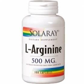 L-ARGININA 500mg 100cap SOLARAY L Arginina 20,15€