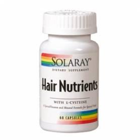 HAIR NUTRIENTS 60cap SOLARAY Plantas Medicinales 16,03€