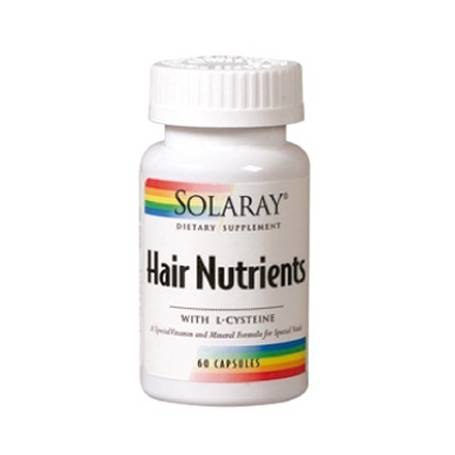 HAIR NUTRIENTS 60cap SOLARAY Plantas Medicinales 16,03 €