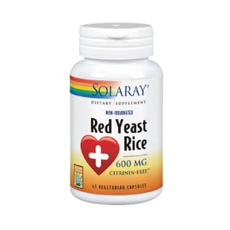 RED YEAST RICE 45cap SOLARAY Plantas Medicinales 20,70 €