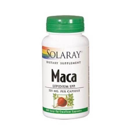 MACA 525mg 100cap SOLARAY Plantas Medicinales 20,70€
