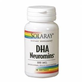 DHA NEUROMINS 100mg 30perl SOLARAY