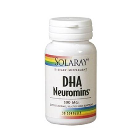 DHA NEUROMINS 100mg 30perl SOLARAY Plantas Medicinales 24,04€
