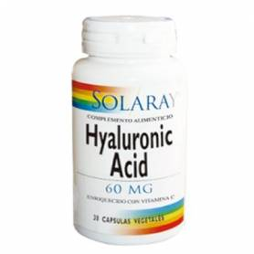 ACIDO HIALURONICO 60mg 30cap SOLARAY