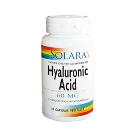 ACIDO HIALURONICO 60mg 30cap SOLARAY Suplementos nutricionales 42,75€
