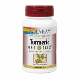 TURMERIC EXTRACTO 600mg 30cap SOLARAY Plantas Medicinales 18,13€