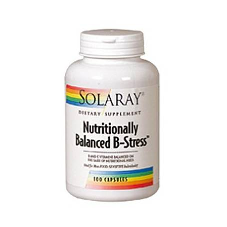 NUTRITIONALLY BALANCED B-STRESS 100cap SOLARAY Plantas Medicinales 24,28 €