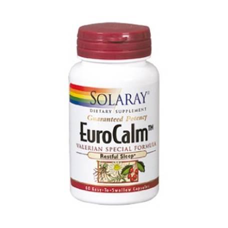 EUROCALM 60cap SOLARAY Plantas Medicinales 18,70€