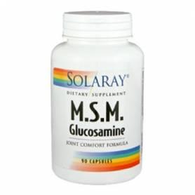 MSM GLUCOSAMINA 90cap SOLARAY Suplementos nutricionales 27,38€