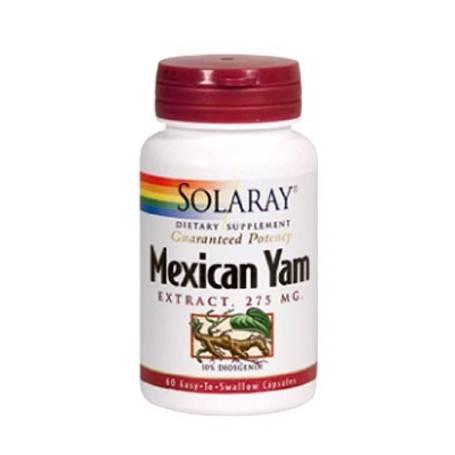 MEXICAM YAM EXTRACTO 275mg 60cap SOLARAY Plantas Medicinales 25,38€