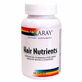 HAIR NUTRIENTS 120cap SOLARAY Plantas Medicinales 22,71€