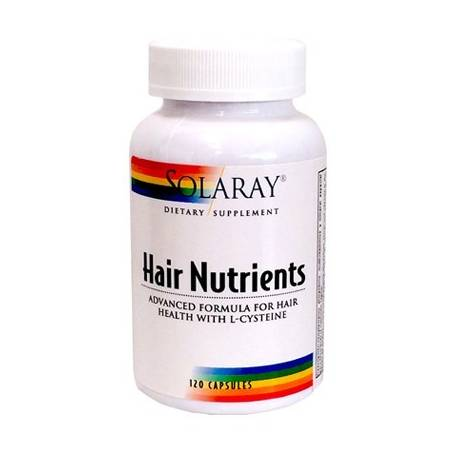 HAIR NUTRIENTS 120cap SOLARAY Plantas Medicinales 22,71 €