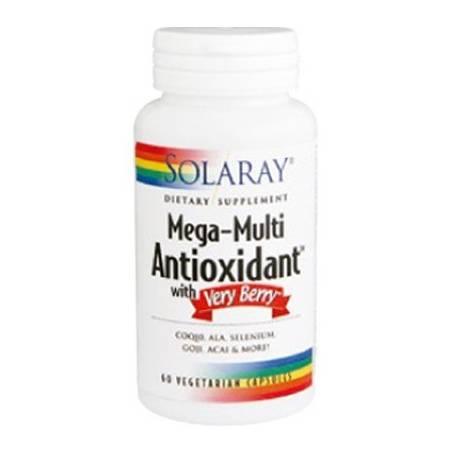MEGA-MULTI ANTIOXIDANT 60cap SOLARAY Suplementos nutricionales 33,40€