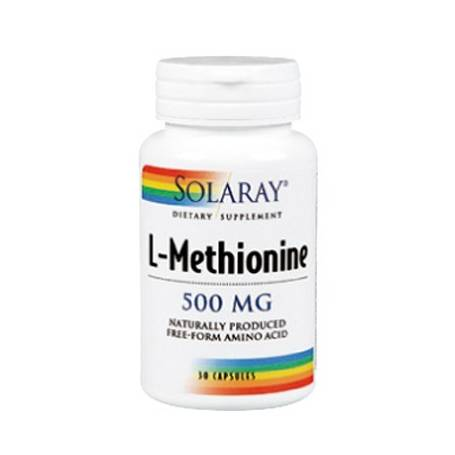 L-METIONINA 500mg 30cap SOLARAY Plantas Medicinales 14,03€