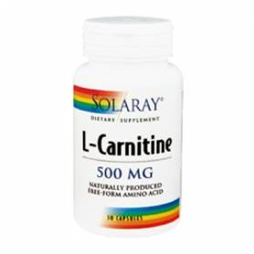 L-CARNITINA 500mg 30cap SOLARAY L Carnitina 26,72 €