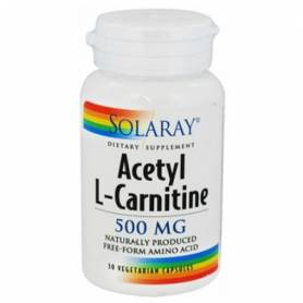 ACETIL L-CARNITINA 500mg 30cap SOLARAY L Carnitina 19,37 €