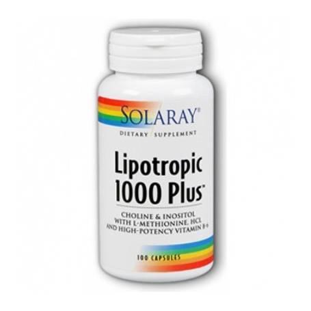 LIPOTROPIC 1000 PLUS 100cap SOLARAY Plantas Medicinales 24,04€