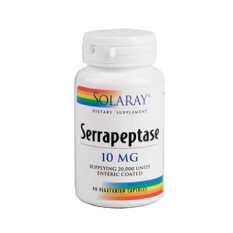 SERRAPEPTASE 90cap SOLARAY Plantas Medicinales 23,38€