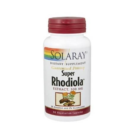 SUPER RHODIOLA EXTRACTO 60cap SOLARAY Plantas Medicinales 28,05€
