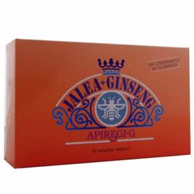APIREGI G jalea real + ginseng 20amp ARTESANIA AGRICOLA Suplementos nutricionales 18,54€
